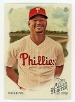 2019 Topps Allen & Ginter #212 DYLAN COZENS Philadelphia Phillies BASEBALL CARD