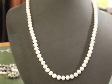 Collier de perles de culture avec fermoir or