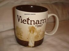 Starbucks Coffee Vietnam Mug  Vietnam  Icon Mug 16oz ~NEW~