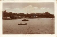 POSTCARD  ADEN - VIEW FROM THE SEA  - RP