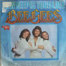 """7"""" 1977 IN VG++ ! THE BEE GEES : How Deep Is Your Love"""