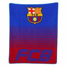 FC Barcelona Dégradé Couverture Polaire Enfants Officiel Neuf