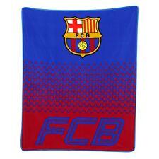 FC BARCELONA FADE FLEECE BLANKET CHILDRENS OFFICIAL FREE P+P NEW