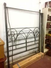 F46001 Wrought Iron Queen Size 4 Poster Bed Heavy