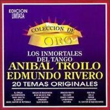 Anibal Troilo, Edmundo Rivero  Inmortales del Tango Coleccion De Oro CD New