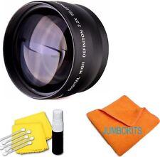 NEW 2.2X Telephoto Zoom Lens for Canon Rebel T1i T2i T3i T3 T4i T5i T5 SL1 58MM
