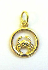 9Carat Yellow Gold Celestial Horoscope Traditional Fine Charms & Charm Bracelets