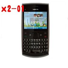 Original Nokia X Series X2-01 (Unlocked) QWERTY keypad Cellular Phone Free ship
