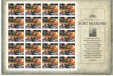 Stamps USA, THE WAR OF 1912, Commemorative Sheet 20 Stamps, 2011 (NMM) (2)