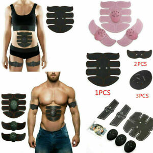 EMS Abdominal Muscle Toning Belt Training Stimulator Shaping Electronic Toner UK