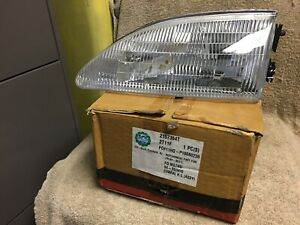 NEW EAGLE EYES FORD MUSTANG 1994-1998 2157364T LH DRIVER REPLACEMENT HEADLIGHT