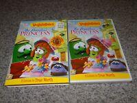 VeggieTales: The Penniless Princess God's Little Girl DVD w Slipcover NEW+SEALED