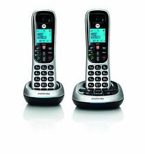 Motorola Digital Cordless Telephone w/ Answering Machine  - 2 Handsets