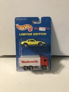 WOOLWORTH 1991 LIMITED EDITION HOT WHEELS DELIVERY TRUCK w WOOLWORTH PRICE TAG