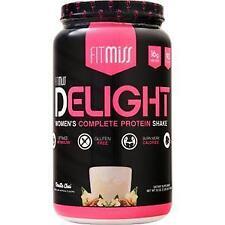 FitMiss Delight - Women's Complete Protein Shake Vanilla Chai 2 lbs