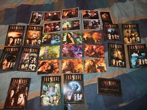 FARSCAPE UK EXCLUSIVE 26 DVD POSTCARDS SET