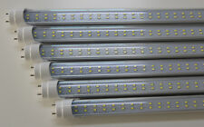 T8 4ft LED TUBE LIGHT 22W 2 Strip 100v-277v Clear cover UL Certified Pack of 4