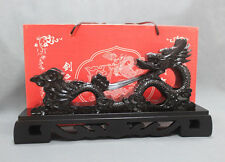Large Dragon Design Rack Display Samurai Sword Katana Wakizashi  Holder Stand