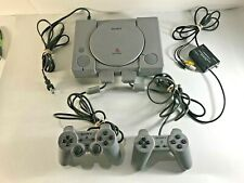 Sony Play Station Console System w Controllers SCPH-5501 -- Complete??