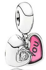 Two-Part Dangle Charm - 791244Cz Pandora You & Me -
