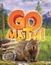 Grade 4 Go Math Student Edition Set 2015 2-Volumes 4th