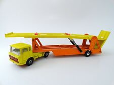 Vintage Matchbox Lesney Super Kings K-11-B7 DAF Car Transporter Made in England
