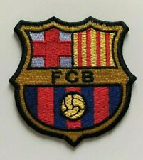 H X W = 7.5cm x 7.5cm - FC Football Embroidered Patches Badge Iron on Sew on