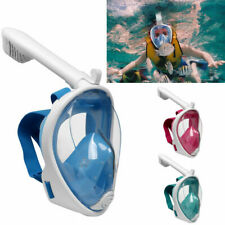 Schnorchelmaske Vollmaske Vollgesichtsmaske Tauchmaske Anti-Fog für Kinder