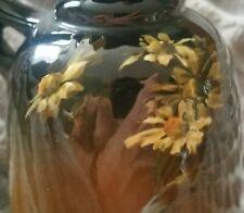 "MINT WELLER LOUWELSA STANDARD GLAZE ART POTTERY 478 EWER MAE TIMBERLAKE ""DASIES"""