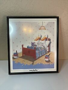"""Michael Bedard """"Living Together"""" Lithograph 1984 10.5x9.5"""""""