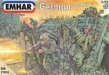 EMHAR 7203-tedeschi (WWI) Fanteria e TANK CREW 1:72 figures-wargaming