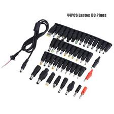 44PCS Universal 5.5*2.1mm DC Power Adapter Plug Charger Tip For Notebook Laptop