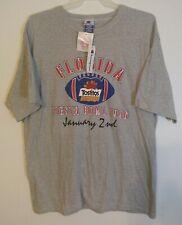 NWT Vintage Champion 1996 Florida Tostitos Fiesta Bowl Shirt Football Size XL
