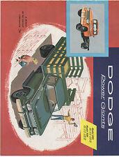 1958 Dodge Trucks Dealers Promotional Brochure