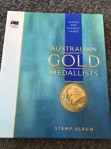 Sydney 2000 Olympic Games Aust. 16 Gold Medallists-Sheet Stamps In Album New