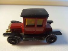 Tomica Tomy 1:60 #F11-1 Dark Red Ford Model T-Ford Coupe - Loose & Clean