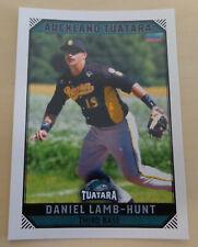 Daniel Lamb-Hunt 2018/19 Australian Baseball League card - Auckland Tuatara