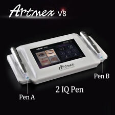 MTS Digital Permanent Makeup Tattoo Machine Artmex V8 Touch Screen & 2 Handles