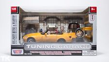 HONDA S2000 TUNING GARAGE 1:24 MOTOR MAX JDM Yellow