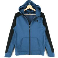 The North Face Blue Full Zip Hoodie Sweatshirt Size Youth Boys XL 16 Years