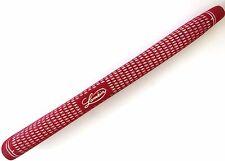 NEW Lamkin Crossline Paddle Standard Size 71g Putter Grip (Red/White) Golf 58R