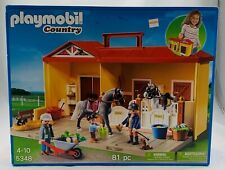 Playmobil Country Horse Stable 5348 New/Sealed FREE SHIPPING