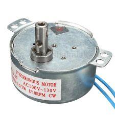 110V AC 8/10RPM CW TYD-50 Synchronous Motor 50/60Hz Torque 3W/3.5W Motor Torque