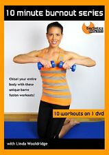 BARRE HIIT FUSION DVD - Barlates Body Blitz 10 MINUTE BURNOUT 10 workouts!