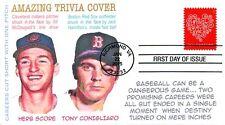 COVERSCAPE computer generated Baseball Bean Balls Trivia FDC