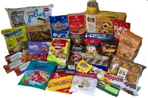 6 Kg Süßigkeiten/Kekse/Gebäck/Schokolade/Fruchtgummi und vieles mehr Mix Paket