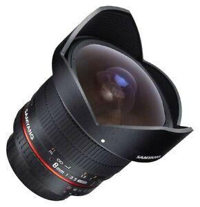 Samyang 8mm f3.5 Aspherical IF MC Fisheye CS II Lens - Canon EF Fit