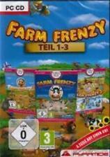 FARM FRENZY 1 + 2 + 3 DEUTSCH OVP Neuwertig