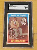 1959 Topps #550 Roy Campanella SGC 5 Newly Graded & Labelled PSA BVS ?