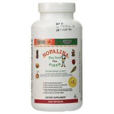 Nopalina Nopalina Flax Seed Plus Fiber Capsules 120 ea (Pack of 9)